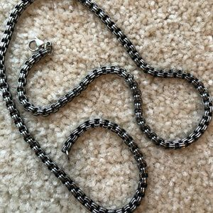 Jewelry - Stainless steel chain.